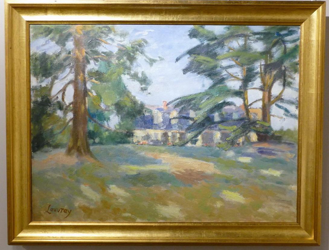31. St François, le musée des Beaux-Arts tableau post-impressionniste