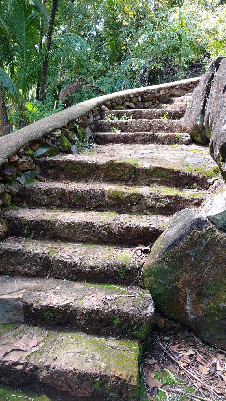 32. Île Royale, un très bel escalier de pierre