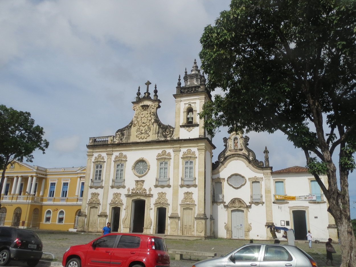 33. Joao Pessoa, église de Nossa Senhora do Carmo (style baroque rococo)