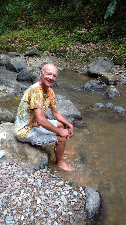 35. Argyle waterfall, bain de fraîcheur bienvenu