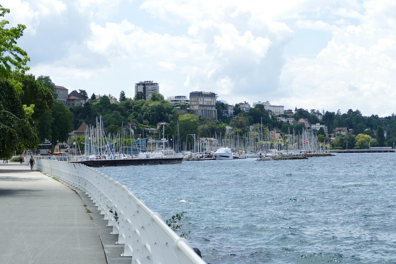 35. Lac Léman - Thonon-les-Bains, la marina
