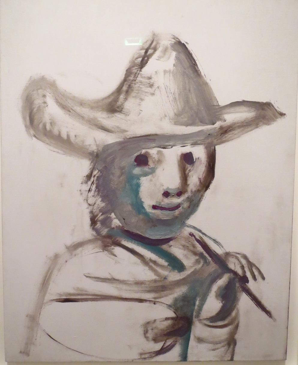 35. Picasso, expo à la Caixa cultural de Rio, le jeune peintre