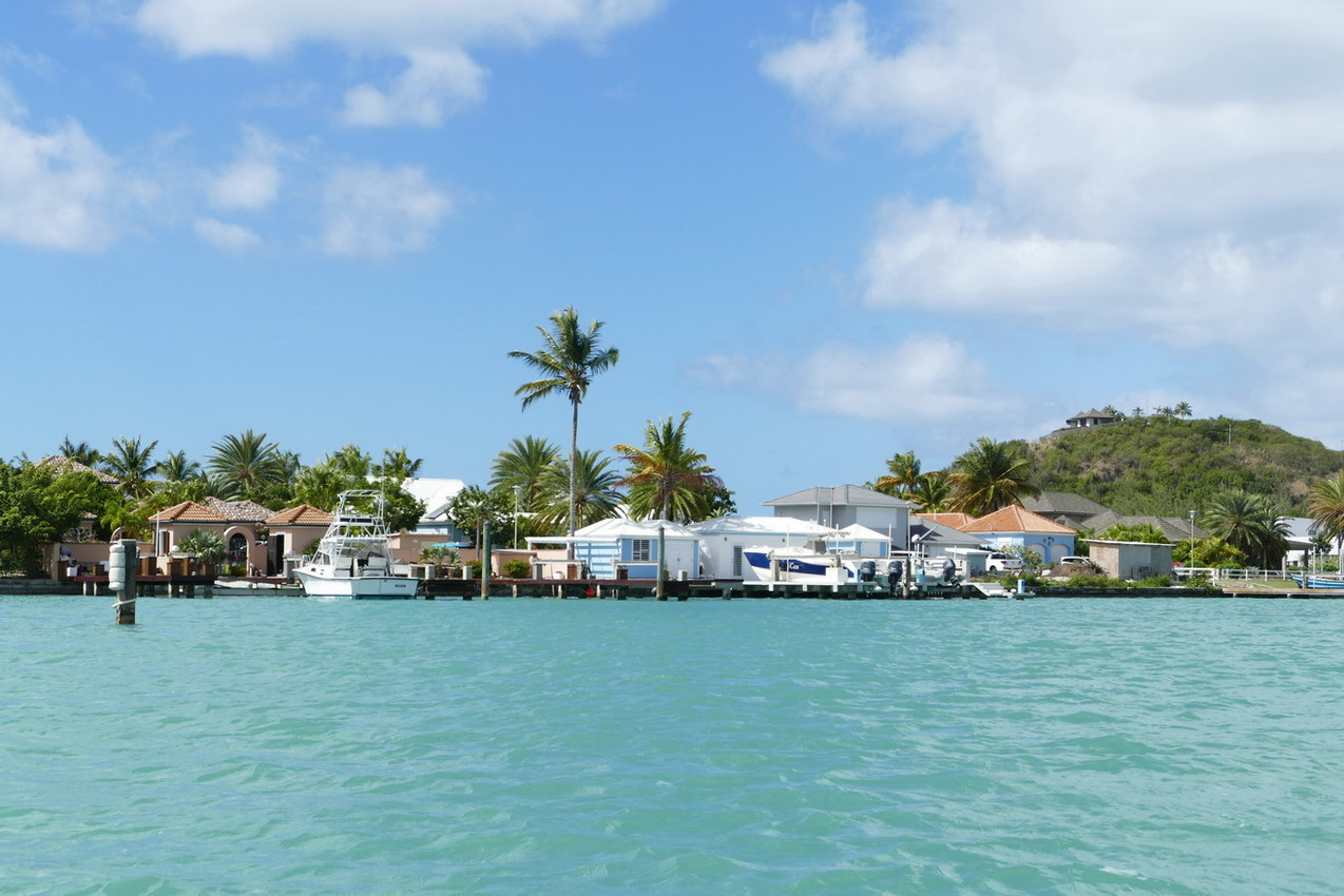 37. Antigua, la lagune de Jolly harbour