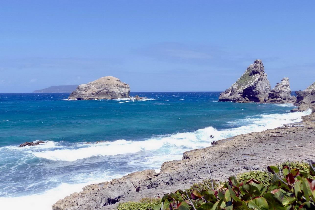 37. Guadeloupe, la Pointe des châteaux