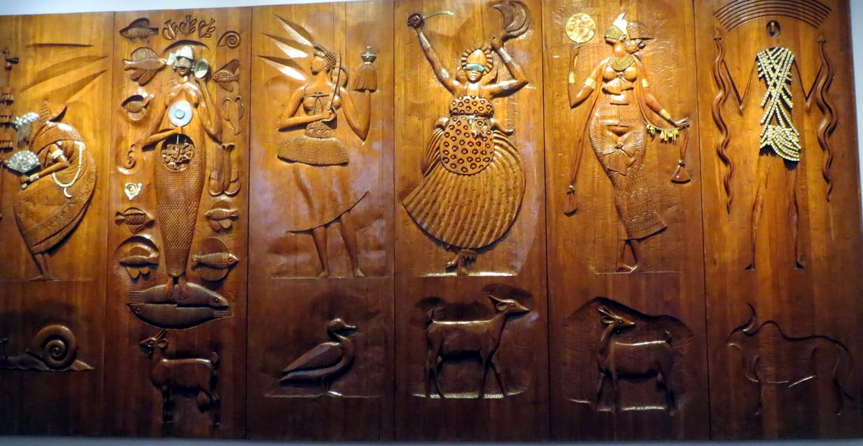 37. SdB, centre historique, musée afro-brésilien, divinités africaines