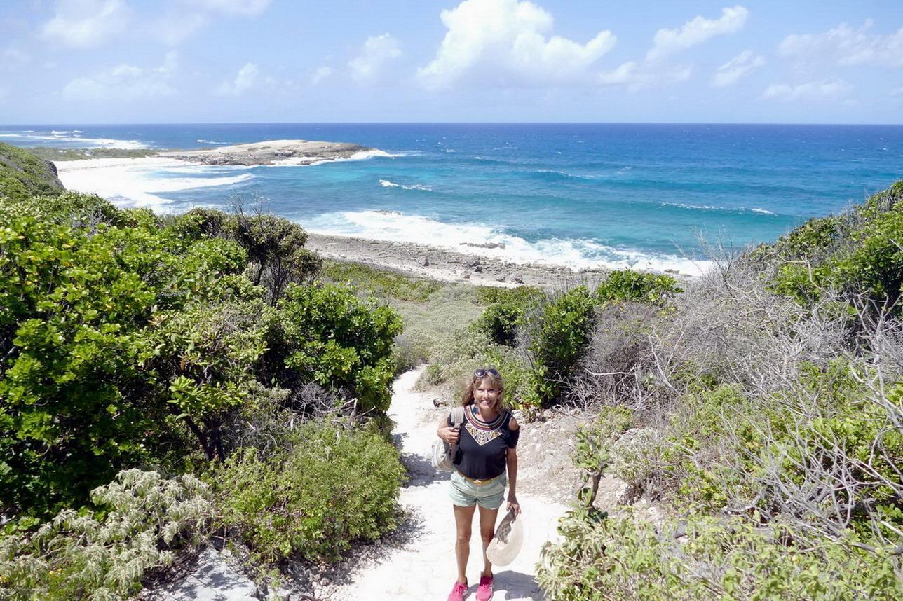 39. Guadeloupe, la Pointe des châteaux
