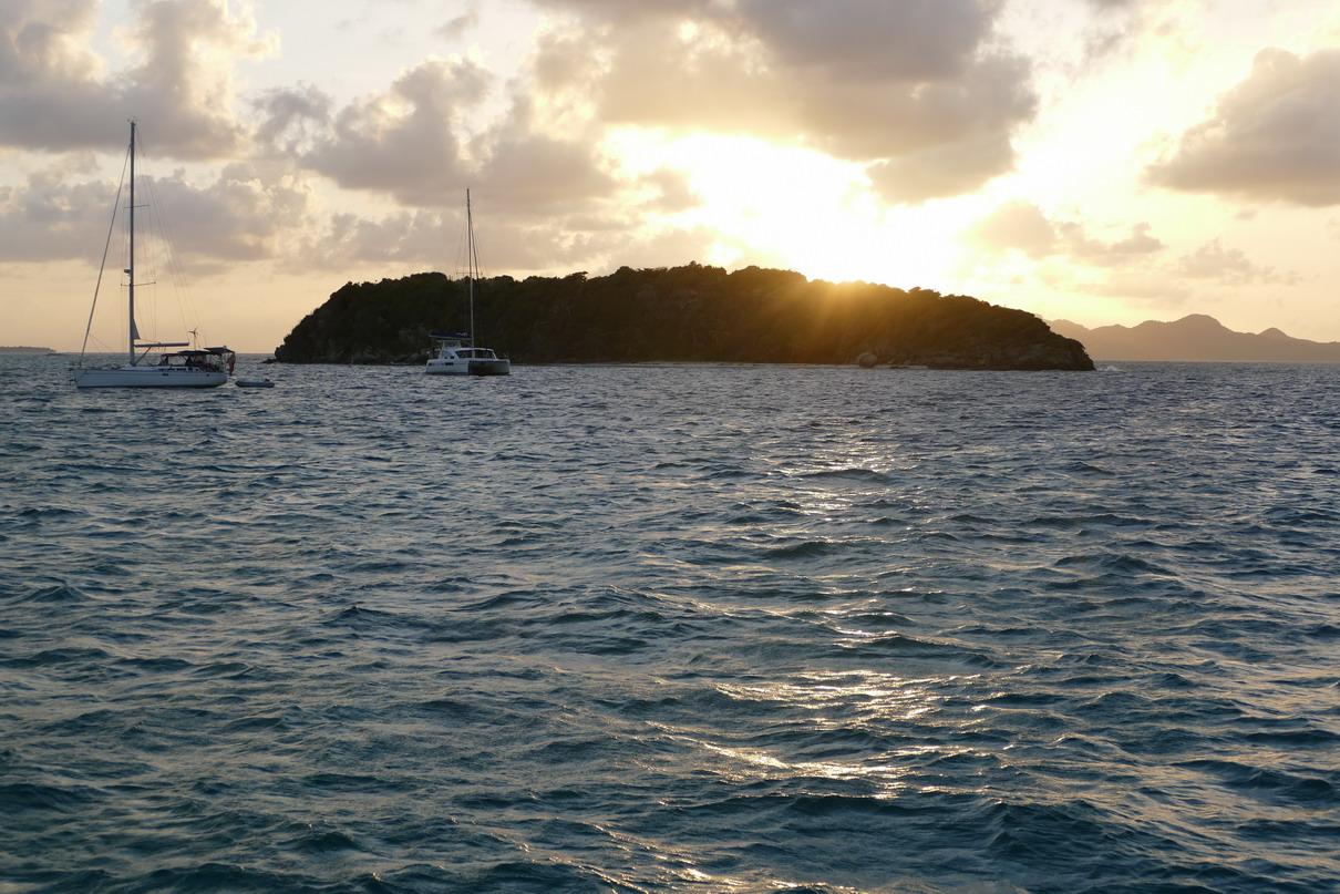39. Les Tobago cays, l'îlet de Jamesby