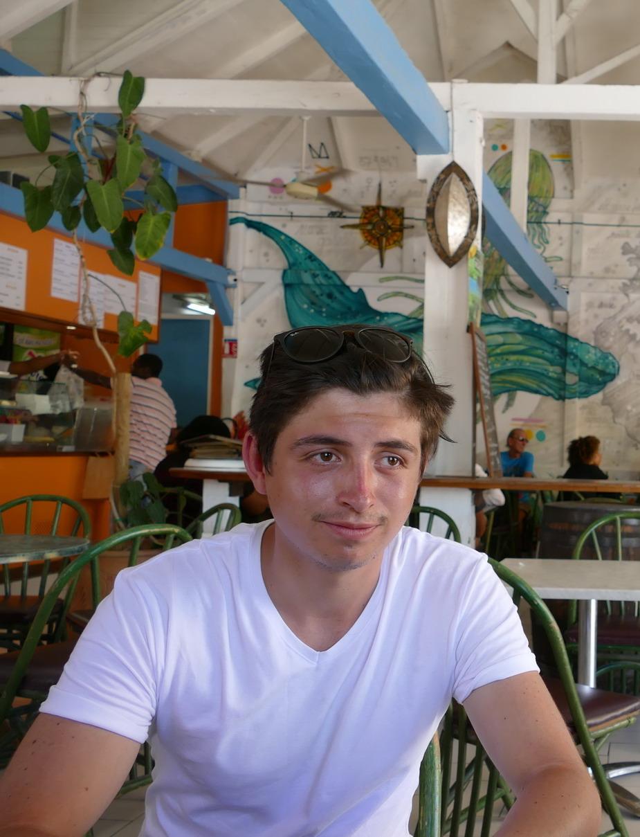 39. Marie-Galante ; Grand-Bourg, le restaurant Ornata le temps d'un déjeuner