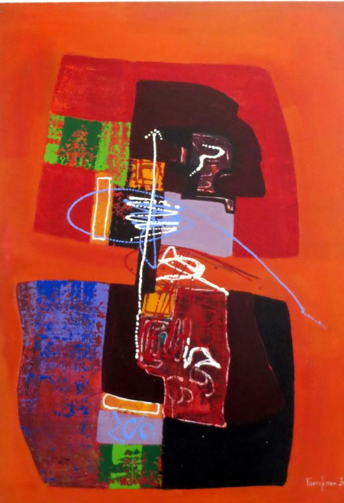 39. SdB, centre historique, musée afro-brésilien, peinture de Terciliano Jr