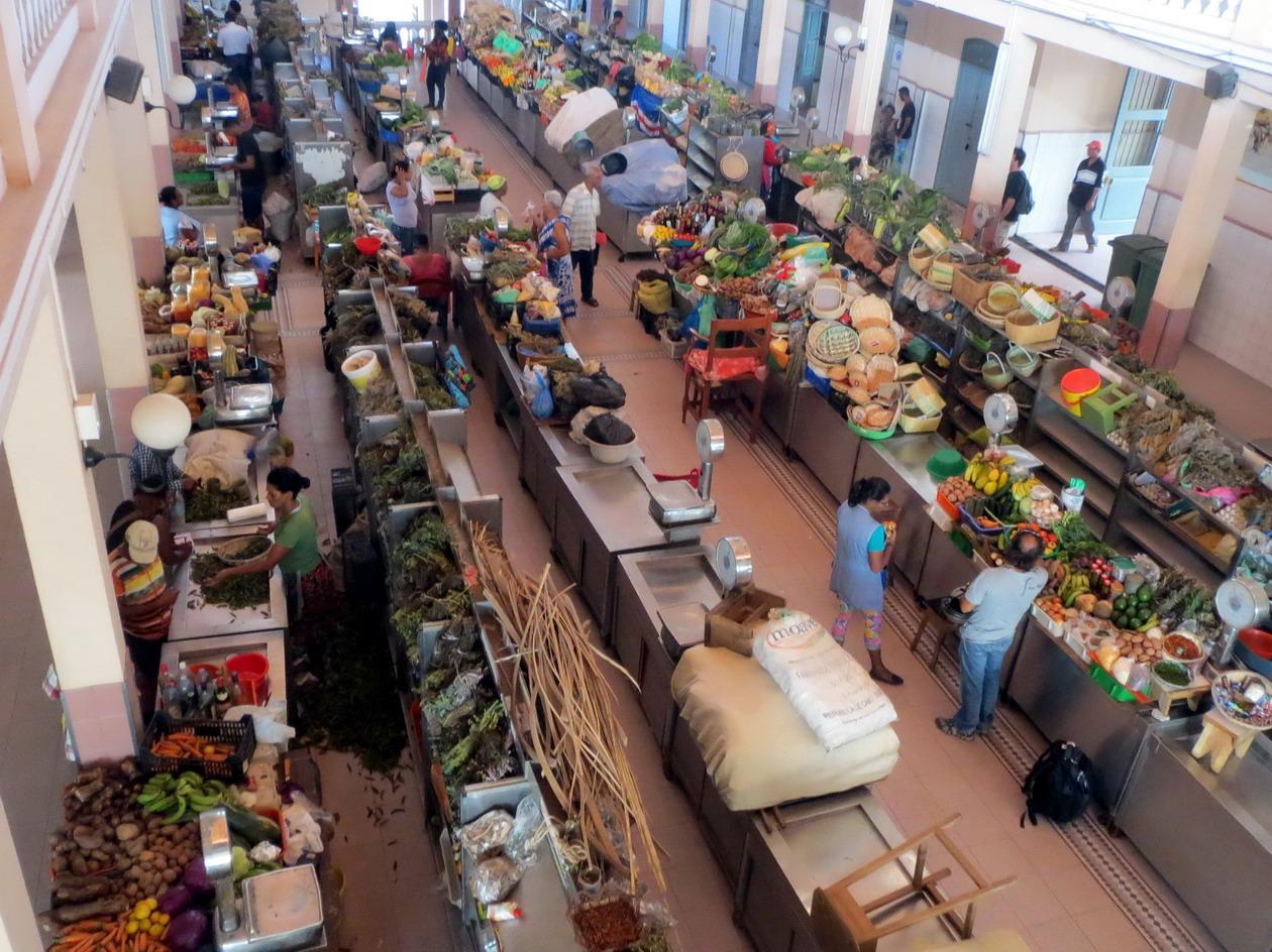 4. Le marché couvert