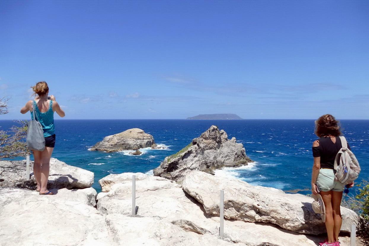 41. Guadeloupe, la Pointe des châteaux