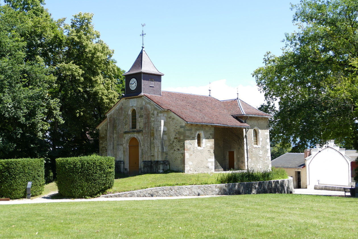 41. Lac Léman - Ferney Voltaire, la chapelle