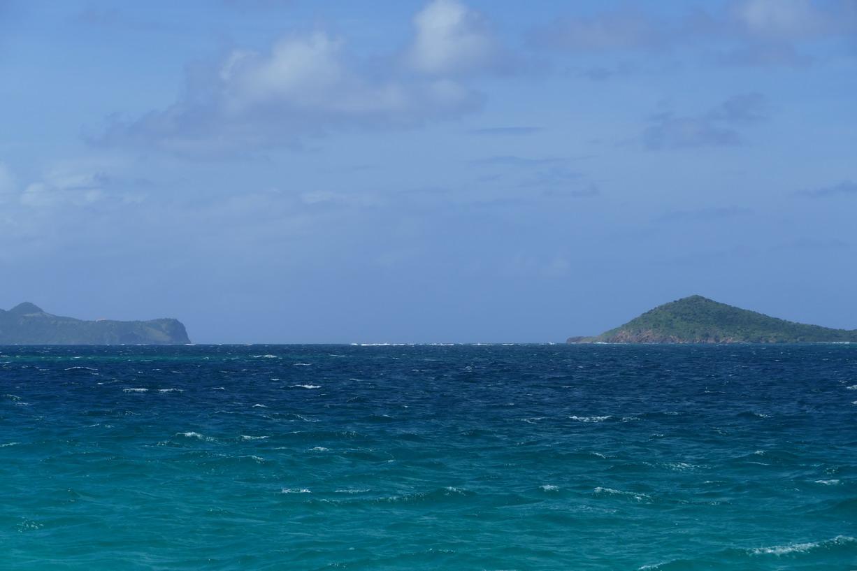42. Les Tobago cays, le vent souffle