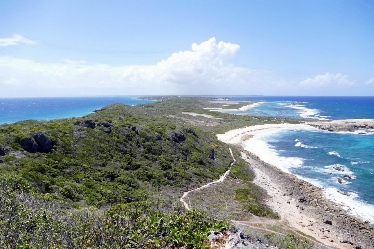 43. Guadeloupe, la Pointe des châteaux