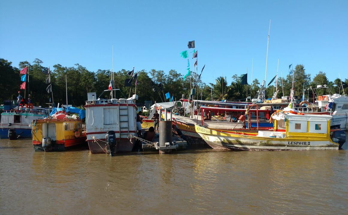 43. La marina, le ponton brésilien