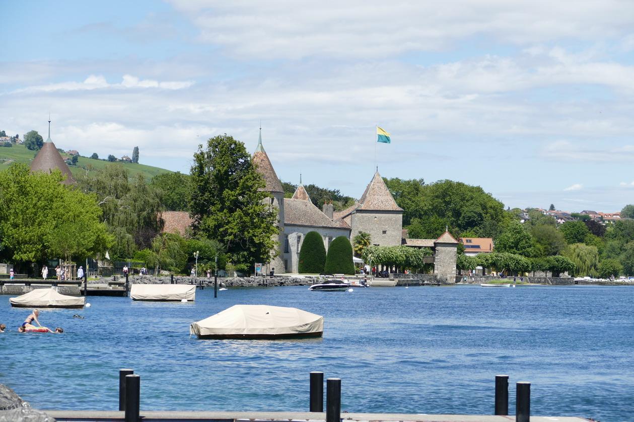 43. Lac Léman - Rolle et le vignoble suisse