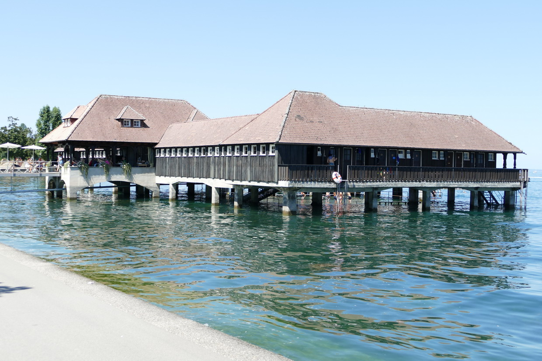 43. Le lac de Constance - rive sud, Rorschach, Badhütte