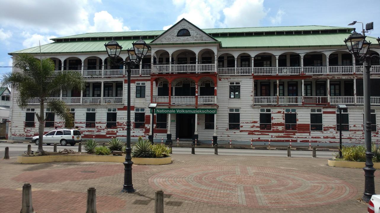 43. Paramaribo, le conservatoire de musique