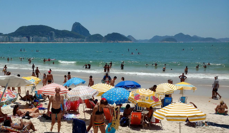 44. Plage de Copacabana, première baignade
