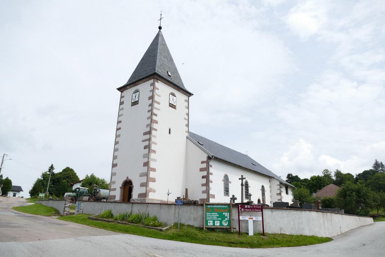 44. Vers le Haut-du-Tôt, le plus haut village des Vosges