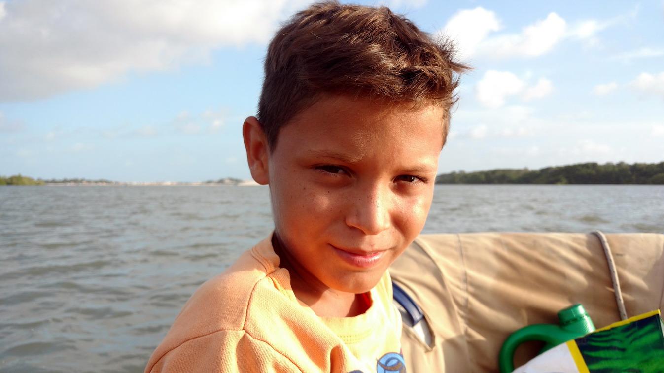 45. Belle frimousse de petit Brésilien
