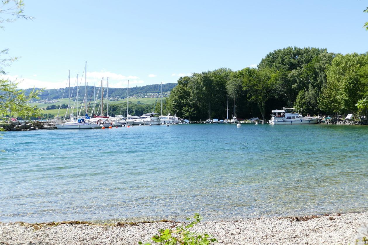45. Lac Léman - Rolle et le vignoble suisse