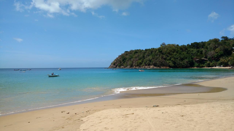 47. La plage de Castara