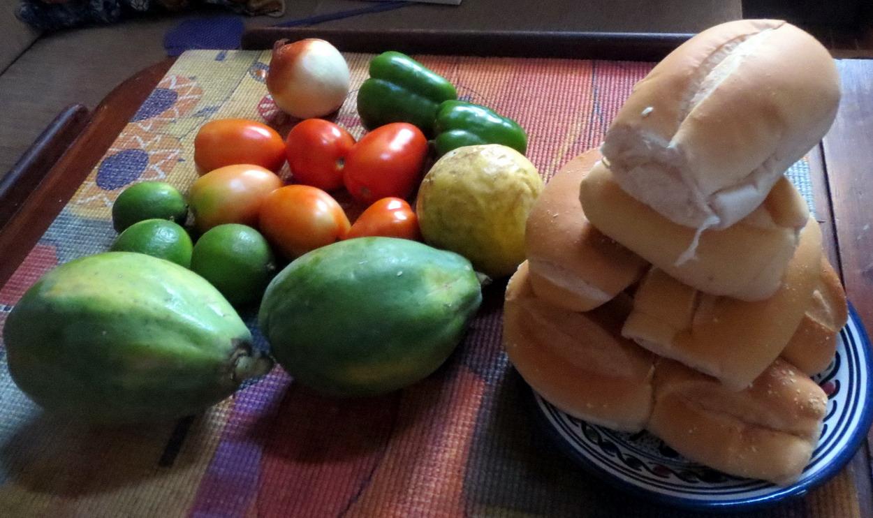 49. Des provisions pour 13,20 R$ (3,40 €)