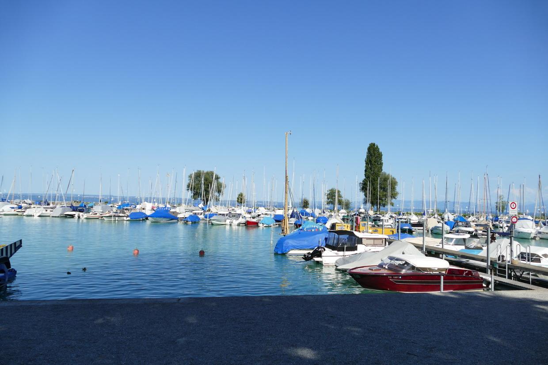 49. Le lac de Constance - rive sud, marina d'Arbon