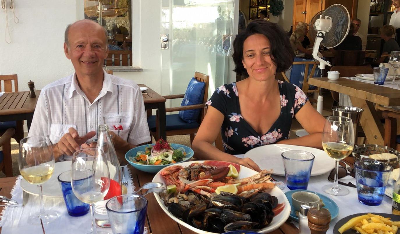 49. Retour à Palma au restaurant français Bistro de Paris, nouvellement ouvert et tenu par des Lyonnais