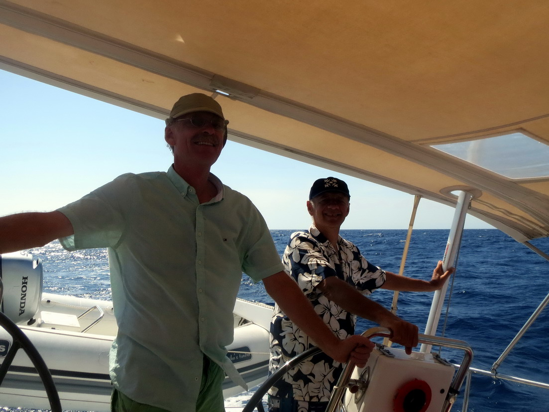 45. Retour vers Palma par vent d'E de 15 à 20 nds