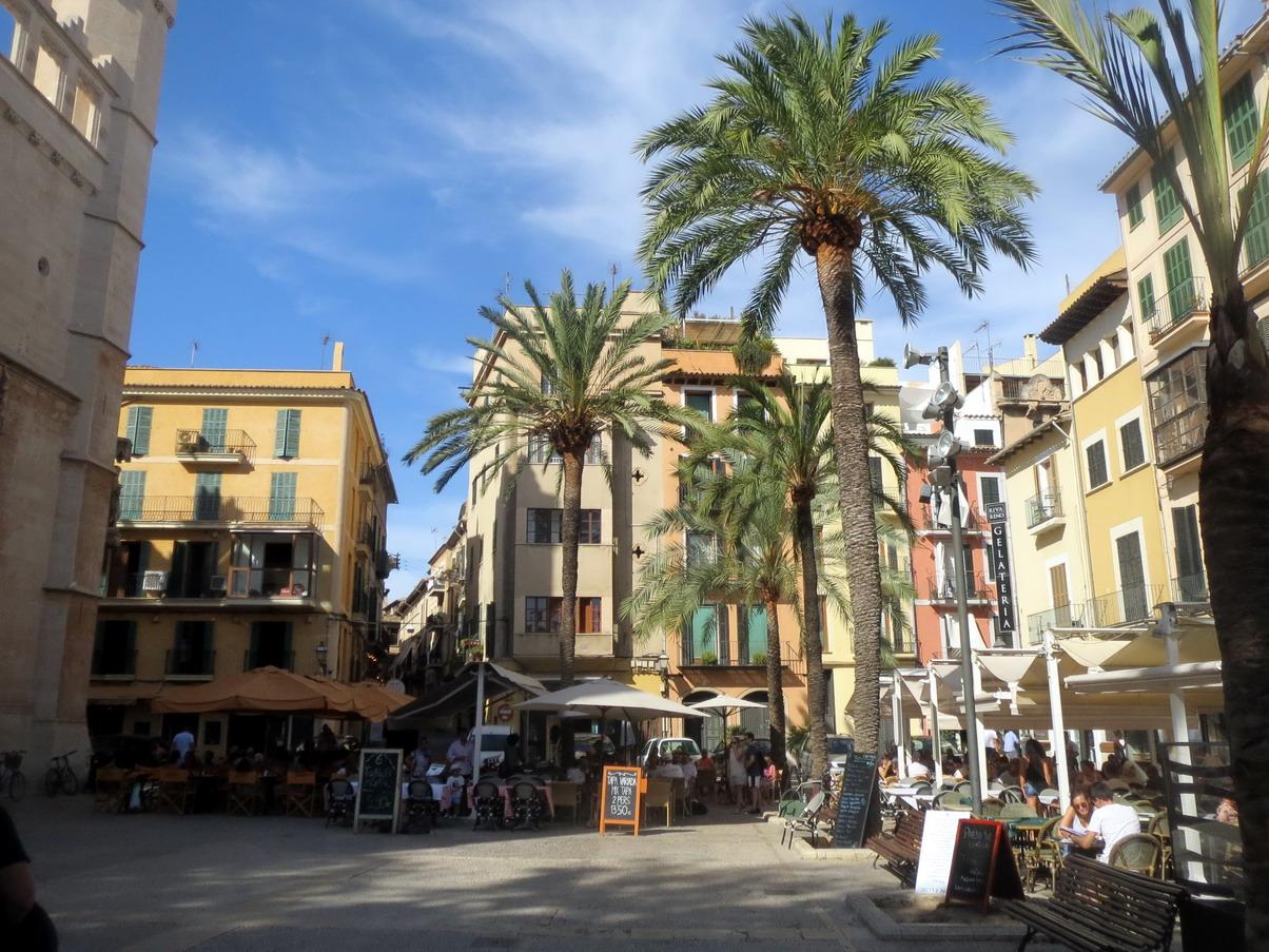 5. Palma, la place de la Llotja
