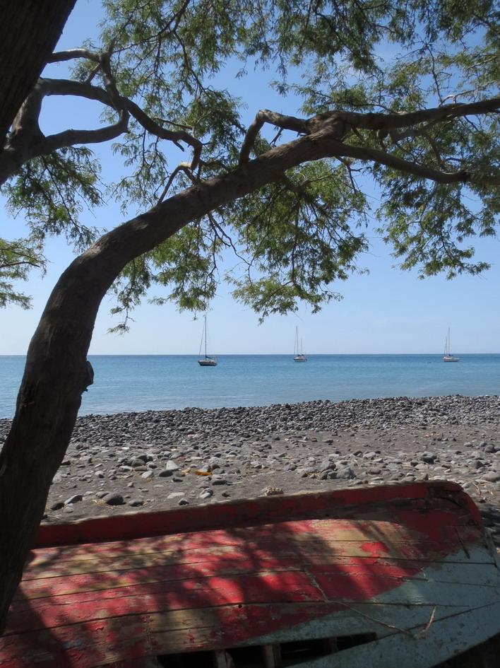 5. Tarrafal, mouillage vu de la plage