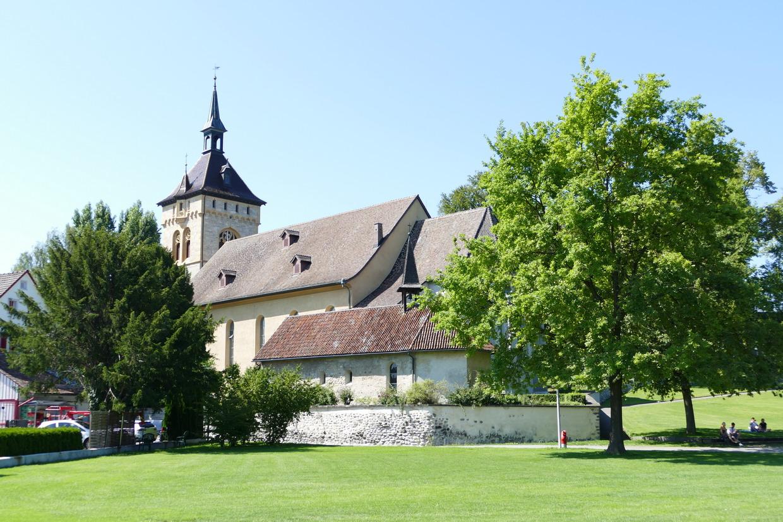 50. Le lac de Constance, rive sud, Arbon, église St Martin