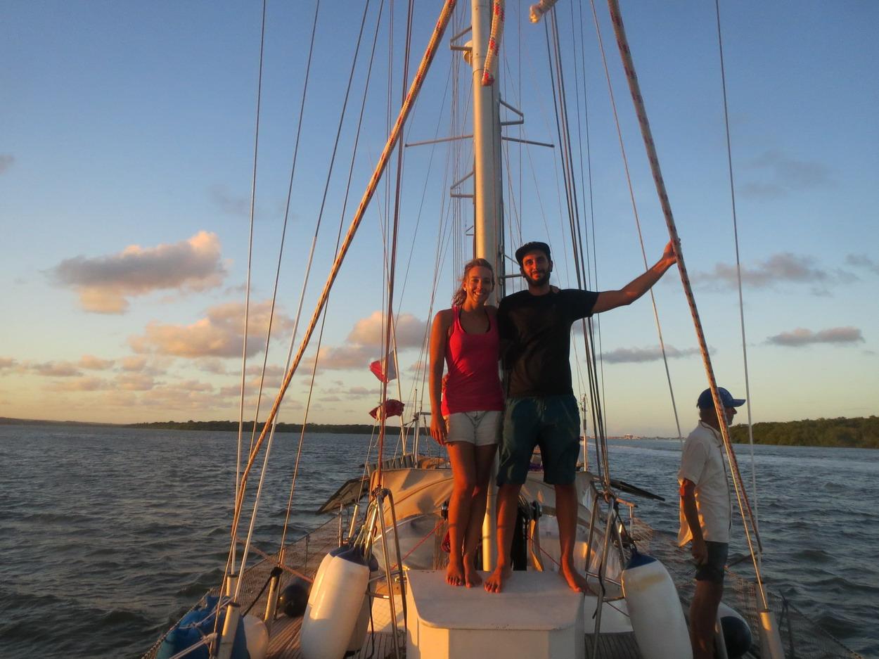6. Derniers milles sur le voilier