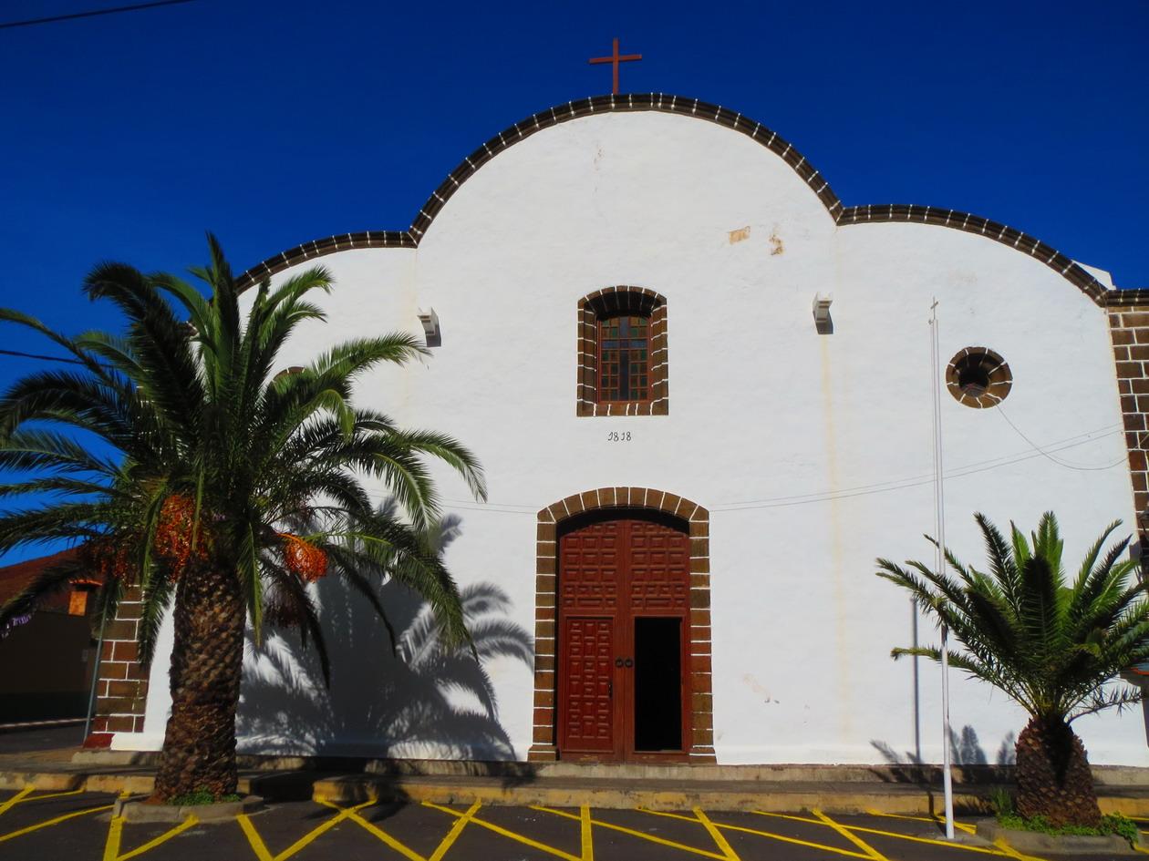 6. La Frontera, église de la Candelaria
