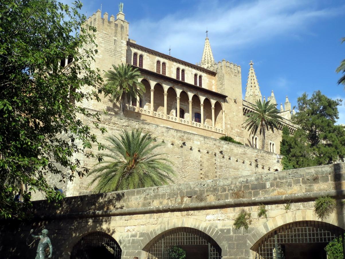 6. Palma, le palais de l'Almudaina