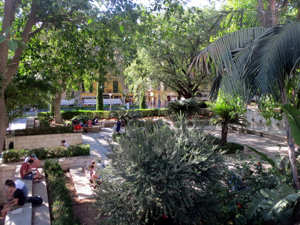 7. Palma, les jardins du palais