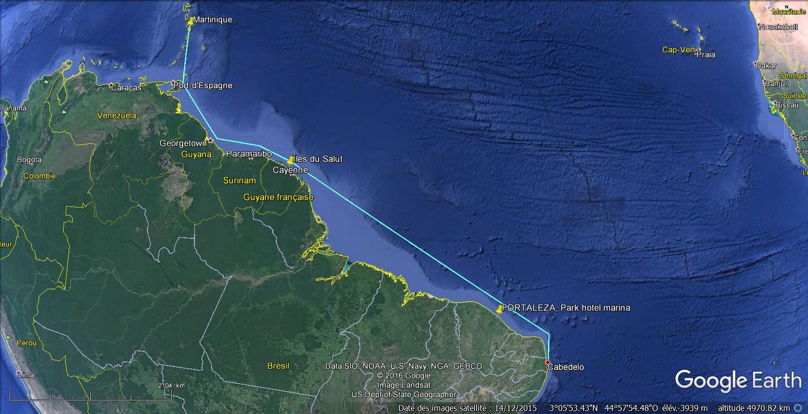 Croisière vers les Caraïbes