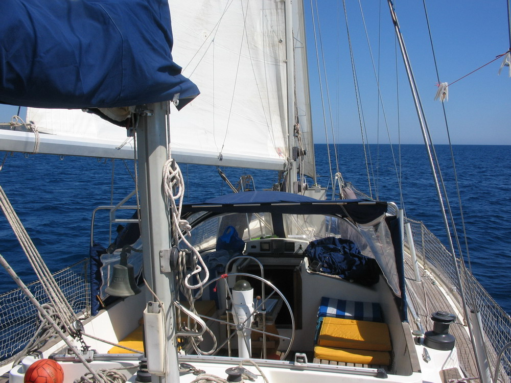 10. Navigation sur la côte orientale