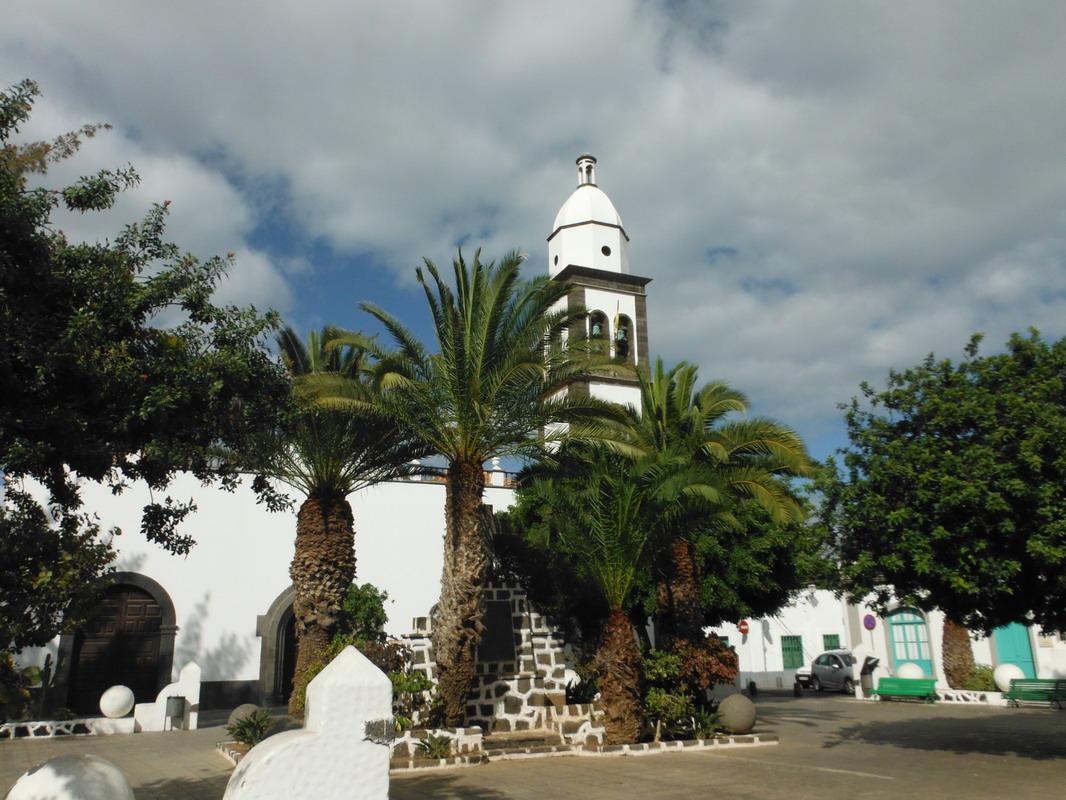 02. Lanzarote, Arrecife, l'église San Gines