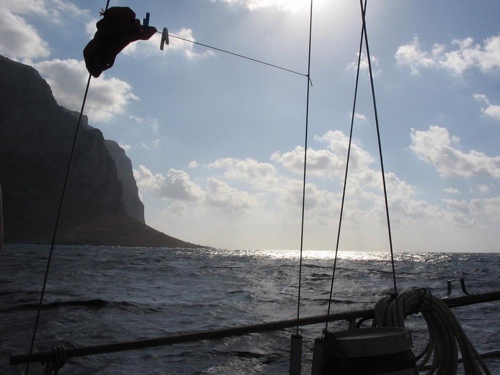 8. Cap Gallo ouvrant la baie de Palerme